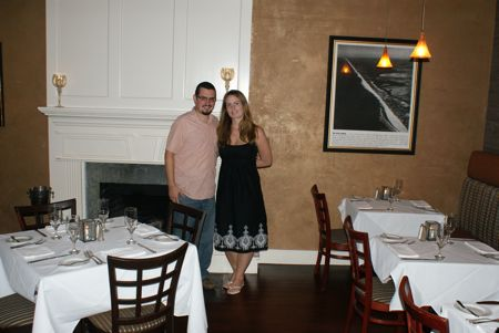 Anniversary dinner at the Inn